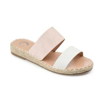 Journee Collection Suzzie Espadrille Slide Sandals Women's Shoes