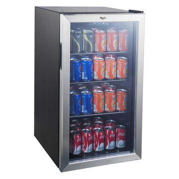 Whirlpool 3.6 cu ft Mini Refrigerator Beverage Center - Stainless Steel JC-103EZY