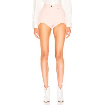 Dion Lee Bike Short in Frost Pink | FWRD
