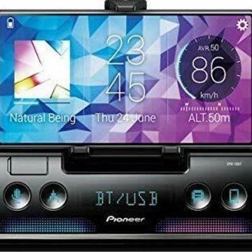 Pioneer SPH10BT Smartphone Cradle Sync Mechless Receiver W/alexa/bt Single Din