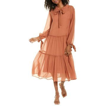See By Chloe 2Pc Silk-Blend Maxi Dress Set