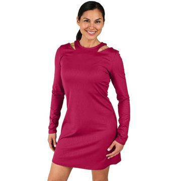 Women's Soybu Flitter Cutout-Shoulder Dress