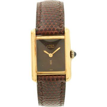 Cartier Tank Must Gold Silver Gilt Watches