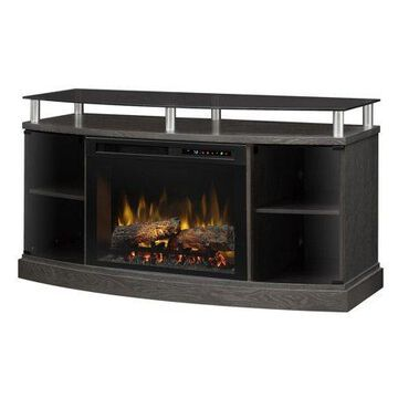 Dimplex Windham Media Console Electric Fireplace With Logs for TVs up to 55