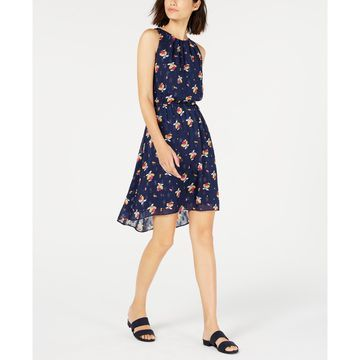 Cinched-Waist Halter Dress, Created for Macy's