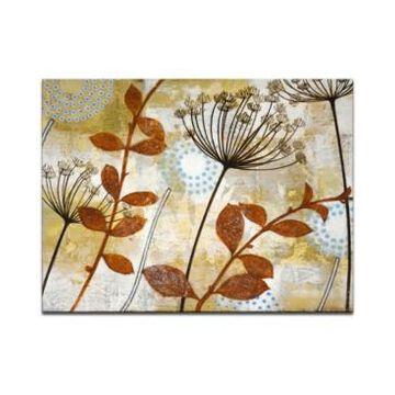 "Ready2HangArt 'Meadow Breeze Ii' Botanical Canvas Wall Art, 30x40"""