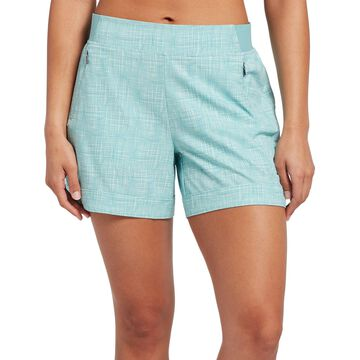 CALIA by Carrie Underwood Women's Anywhere Print 5'' Cuff Shorts