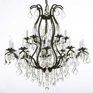 Gallery Iron 15-Light Chandelier