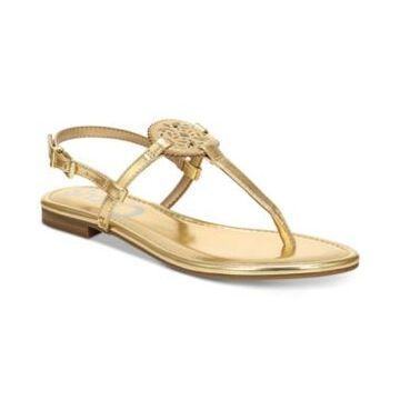 Circus by Sam Edelman Women's Caya Medallion Flat Sandals Women's Shoes