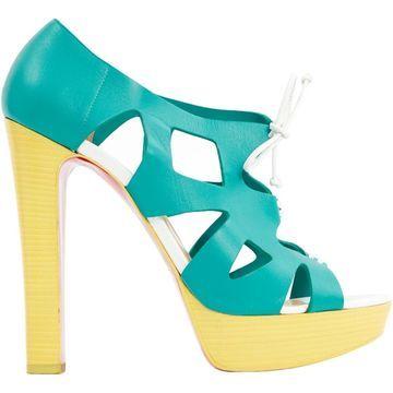 Christian Louboutin Multicolour Leather Heels