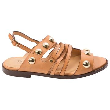 Vanessa Bruno \N Camel Leather Sandals