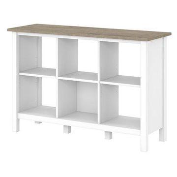 Bush Furniture Mayfield 6 Cube Bookcase