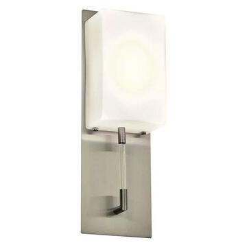 Plc Lighting 55028Sn Alexis Led Wall Sconce,Satin Nickel