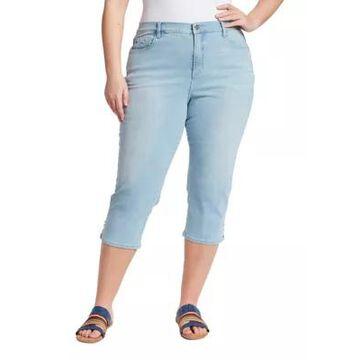 Gloria Vanderbilt Women's Plus Size Amanda Capris - -