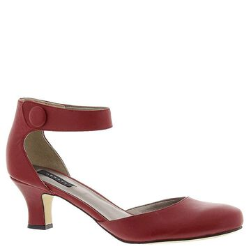 ARRAY Womens Charlie Leather Closed Toe Ankle Strap D-orsay