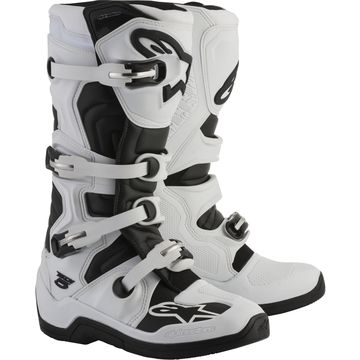 Alpinestars Tech 5 Boots White/Black Sz 15