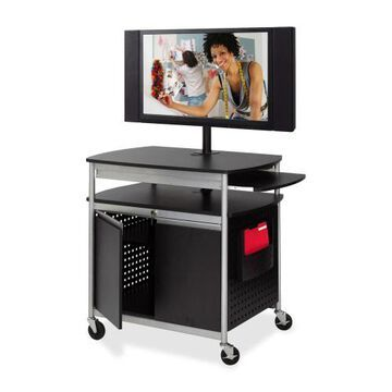 Safco Flat Panel Multimedia Cart