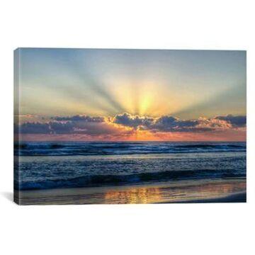 iCanvas Radiant Dawn 26-Inch x 40-Inch Canvas Wall Art