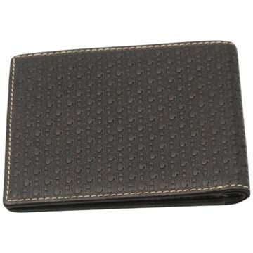 Carolina Herrera Brown Fur Wallets