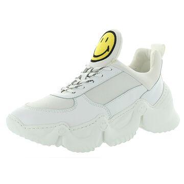 Joshua Sanders Womens Capsule Smile Donna Fashion Sneakers Chunky Lifestyle - White