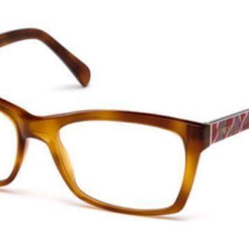 Emilio Pucci EP5033 053 Womens Glasses Tortoiseshell Size 54 - Free Lenses - HSA/FSA Insurance - Blue Light Block Available