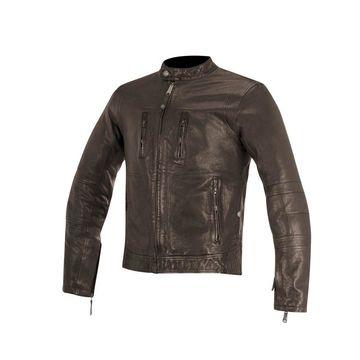 Alpinestars 2019 Brass Leather Jacket - Brown - Medium
