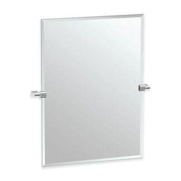 Gatco Bleu 23-Inch x 31-Inch Rectangle Mirror in Satin Nickel