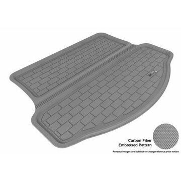 3D MAXpider 2013-2017 Toyota COROLLA All Weather Cargo Liner in Gray with Carbon Fiber Look