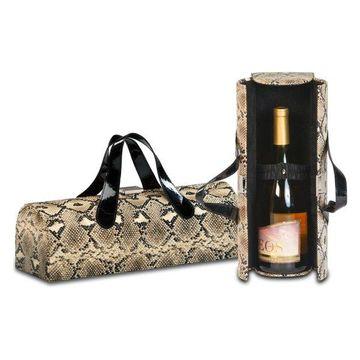 Carlotta Clutch Wine Bottle Clutch, Snake