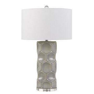 150W 3 Way Melfi Ceramic Table Lamp - Cal Lighting