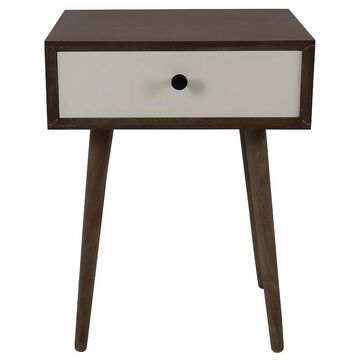 Decor Therapy Melvin End Table, Brown