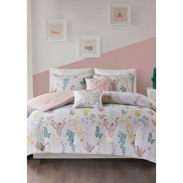 Jla Home Desert Bloom Comforter Set - -