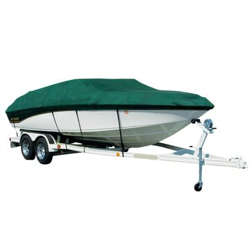 Covermate Sharkskin Plus Exact-Fit Cover for Seaswirl Tempo 17 Tempo 17 I/O. Forest Green