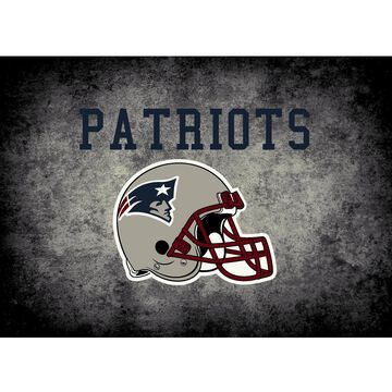 New England Patriots Imperial 6' x 8' Distressed Rug