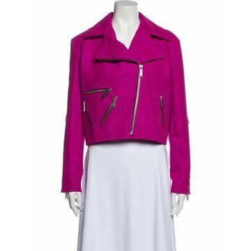 Virgin Wool Biker Jacket w/ Tags Wool