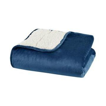 "Sleep Philosophy Velvet to Berber Weighted Blanket, 60"" x 80"" - 15 lbs Bedding"