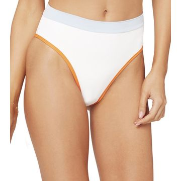 L-Space Color Block Frenchi High Waisted Bikini Bottom