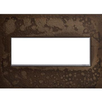 Legrand adorne 3-Gang Hubbardton Forge Dark Smoke Triple Jumbo Wall Plate