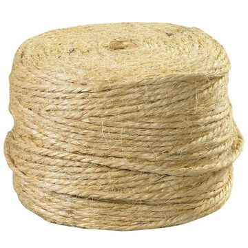 Box Partners Sisal Tying Twine 3-Ply Natural 970/Case TWS970
