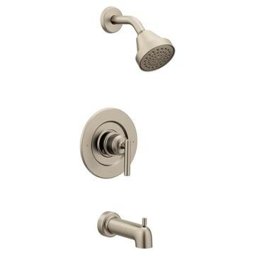 Moen Gibson Brushed Nickel 1-handle Bathtub and Shower Faucet