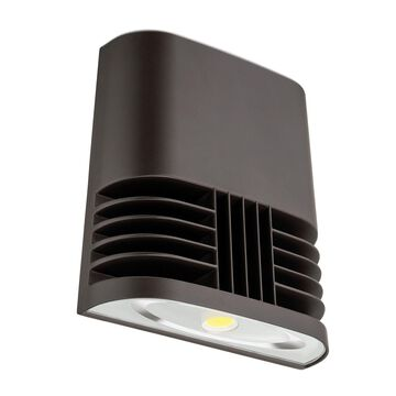 Lithonia Lighting OLWX1 LED 40W 40K M4 Contractor Select LED Wall Pack Dark B...