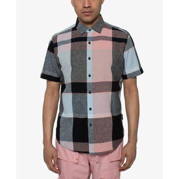 Men's Large Scale Plaid Shirt