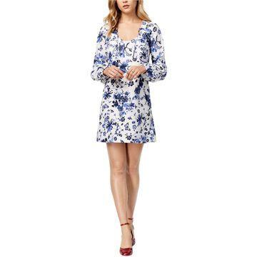 Kensie Womens Wedgewood A-line Dress