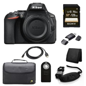 Nikon D5600 DSLR Body Bundle