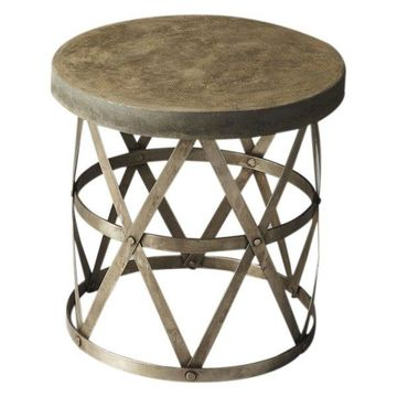 Offex Industrial Chic Side Table