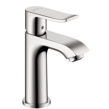 ''Hansgrohe 31088001 Metris 100 Single-Hole Faucet, Chrome''