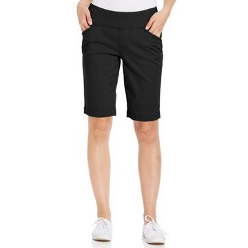 Jag Womens Ainsley Twill Classic Fit Bermuda Shorts