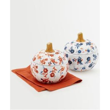 Martha Stewart Collection Harvest Pumpkin Cocottes, Set of 2, Created for Macy's