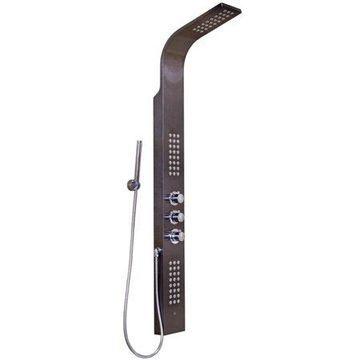 Vigo Shower Panel with Rain Head Massage System