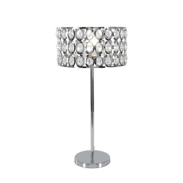 Studio 350 Metal Glass Table Lamp 28 inches high